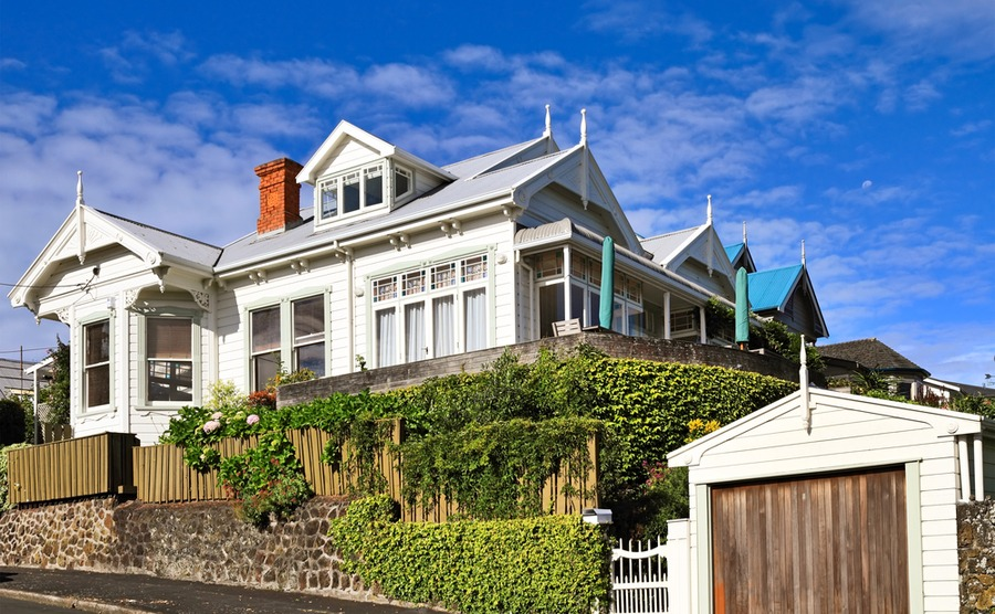 If you move to New Zealand, you can find a lot of affordable property outside of big cities.