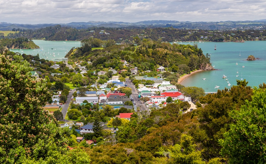 Russell is the oldest European settlement in New Zealand.