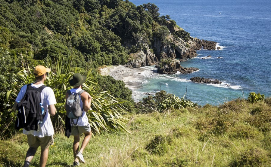 Escaping the crowds in New Zealand