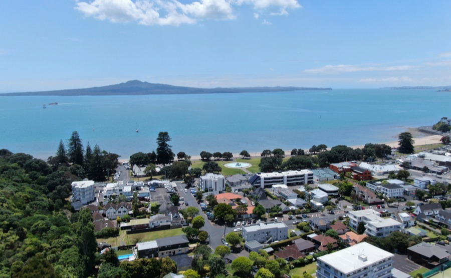 Orakei has a relaxed, village-like feel.