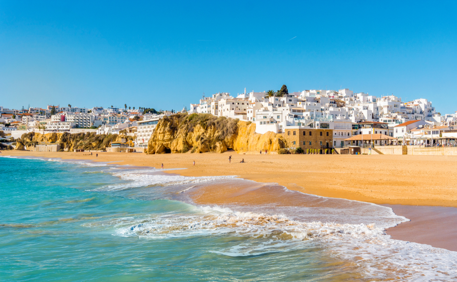Albufeira has transformed itself from sleepy fishing village to bustling resort.
