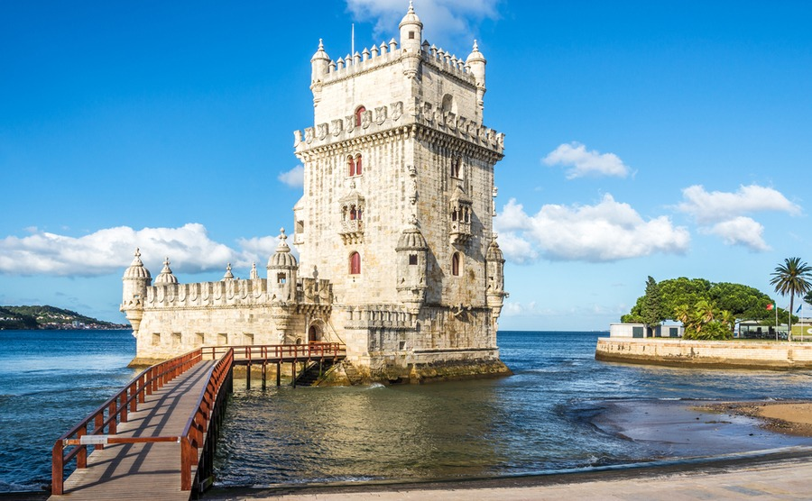 The famous Belém tower.