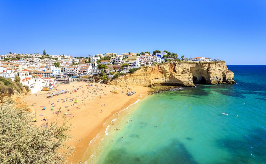 Beautiful Carvoeira has some of the best beaches in Portugal.