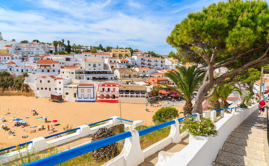 Could you move to Portugal to a village like Carvoeiro?
