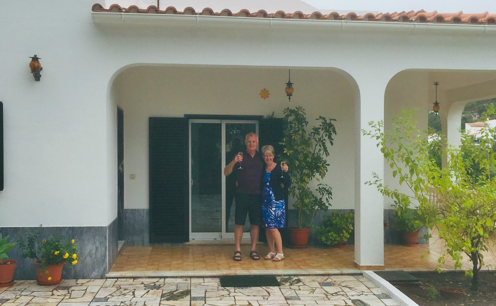 Helen and David have bought a beautiful home in the village of Alportel, Portugal, after meeting Abigail from IAD at Your Overseas Home.