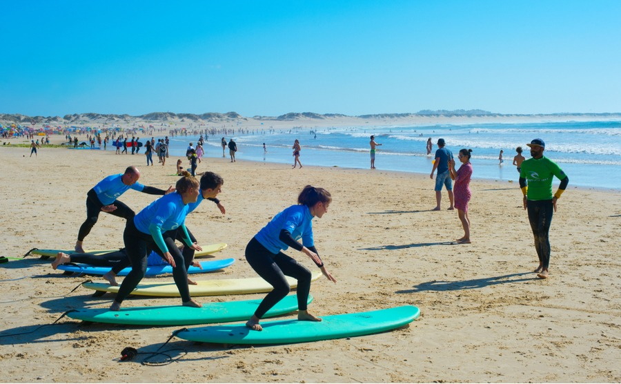 Ericeira's known for its watersports and surfing.
