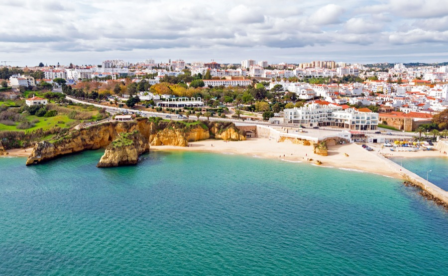 Lagos is a popular place to retire in Portugal.
