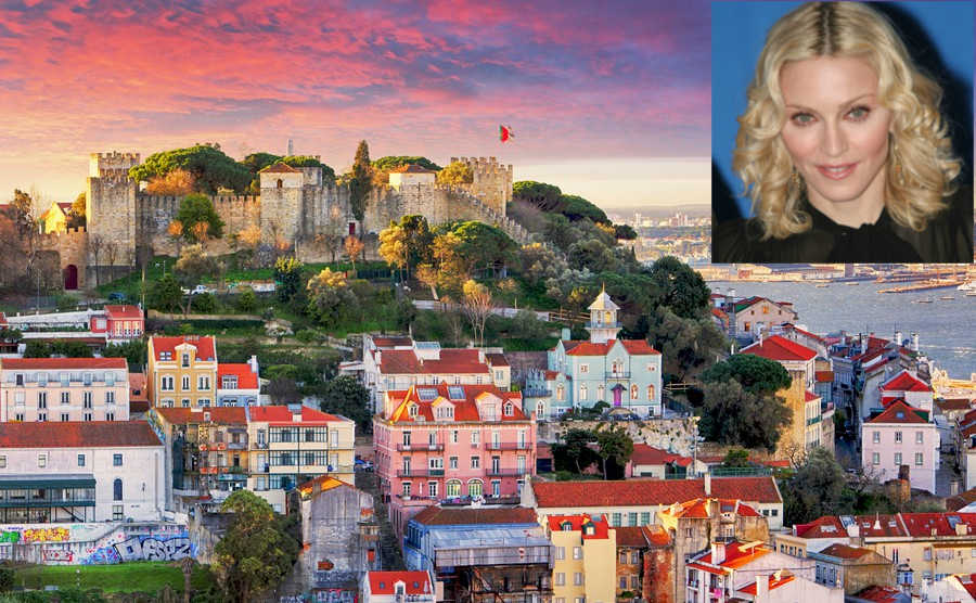 Madonna buys a home in Portugal