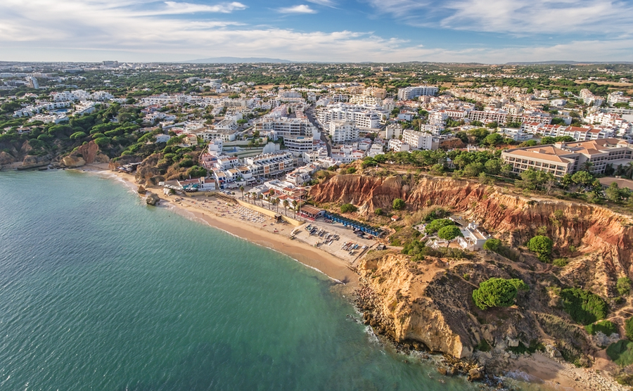 Olhos de Água is just five miles from Albufeira, but feels like another world.