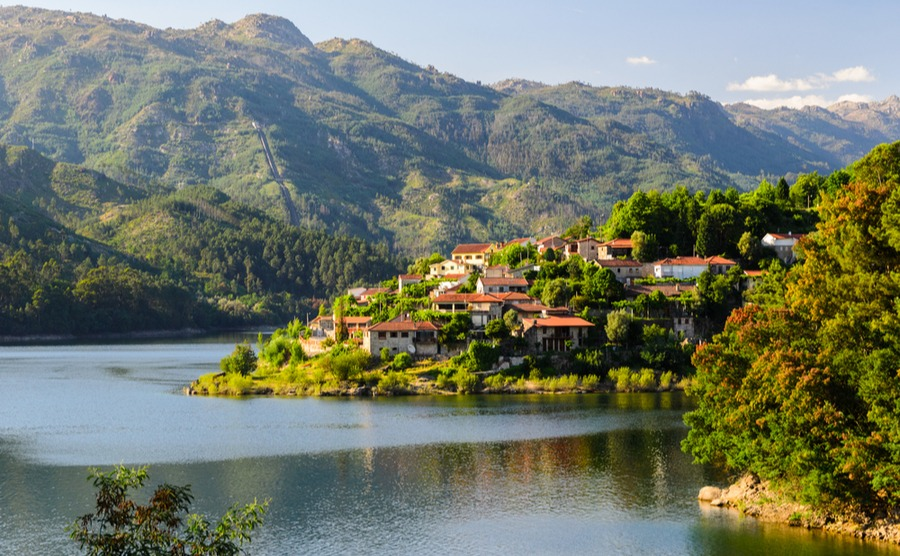 Property in north-west Portugal, Cavado river and Peneda-Geres National Park in northern Portugal, Cavado River and Peneda-Geres National Park