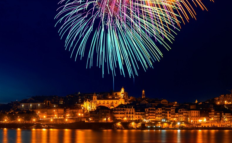Celebrating New Year in Portugal