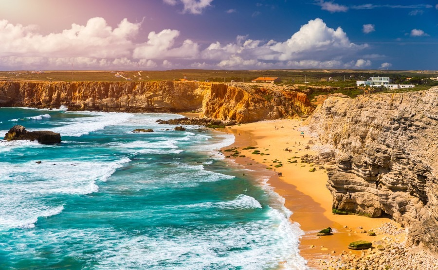 The Alentejo stretches from the Atlantic coast inland as far as Spain.