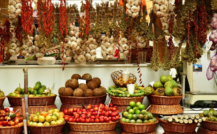 Portuguese markets make shopping a pleasure.