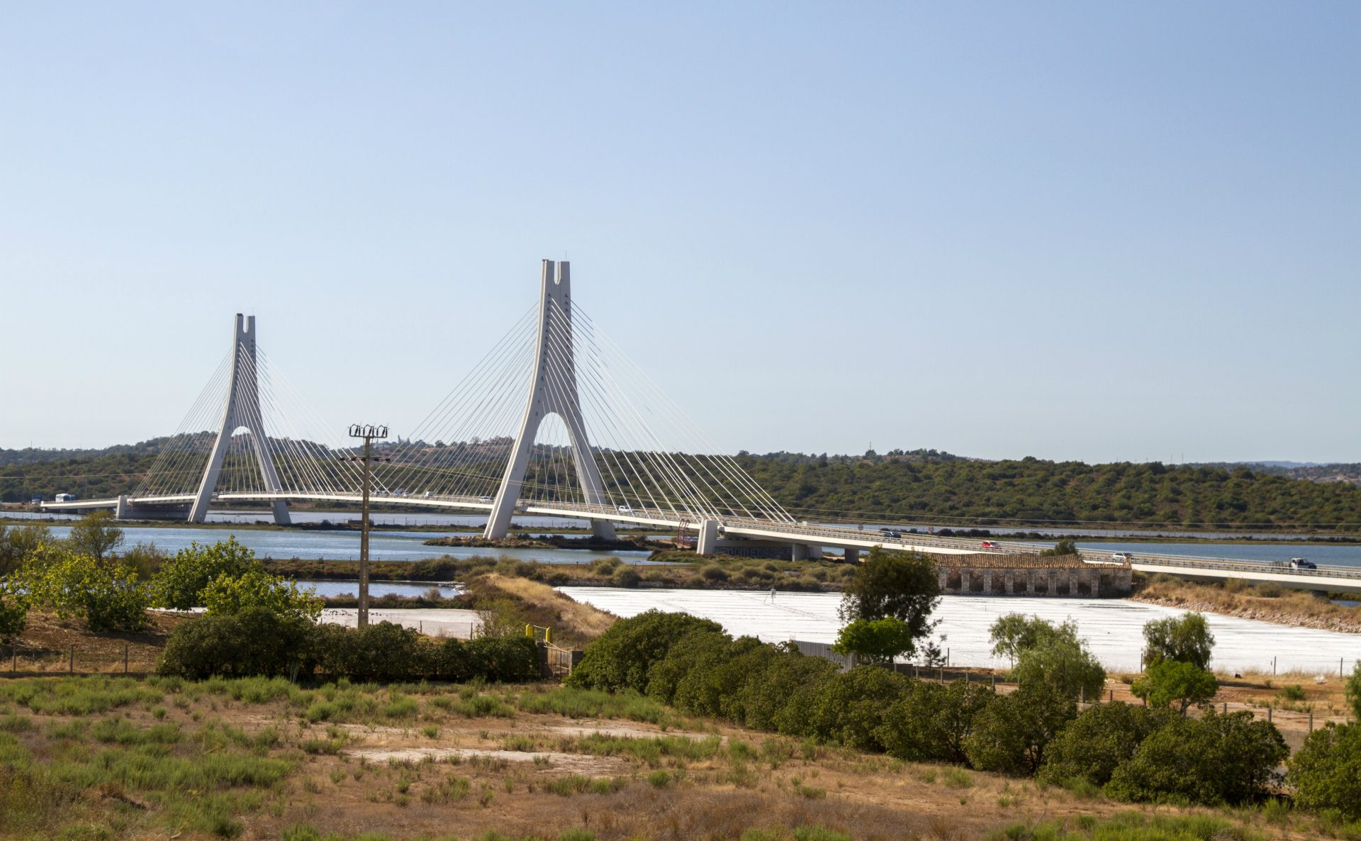 Portugal-Posts-Algarve-Towns-Bridge-River-Arade