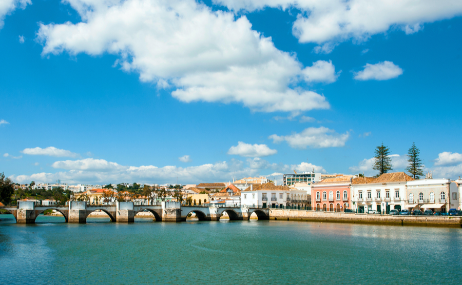 Tavira is your most popular spot in the Eastern Algarve.