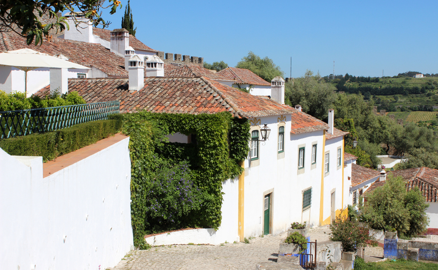Portugal's property market is looking healthy. (Pictured: the village of Obidos).