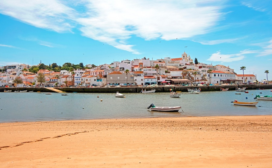 The village of Ferragudo is popular among locals working in Portimão.