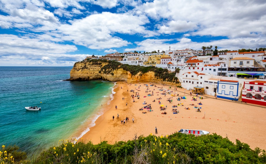 When will Portugal's property business restart?