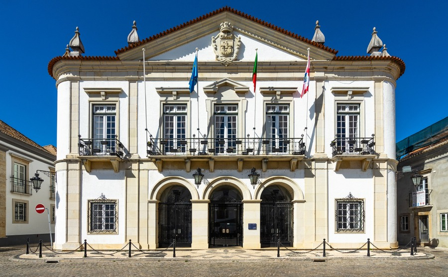 Getting by at the town hall will be much easier if you can speak Portuguese. Francesco Bonino / Shutterstock.com