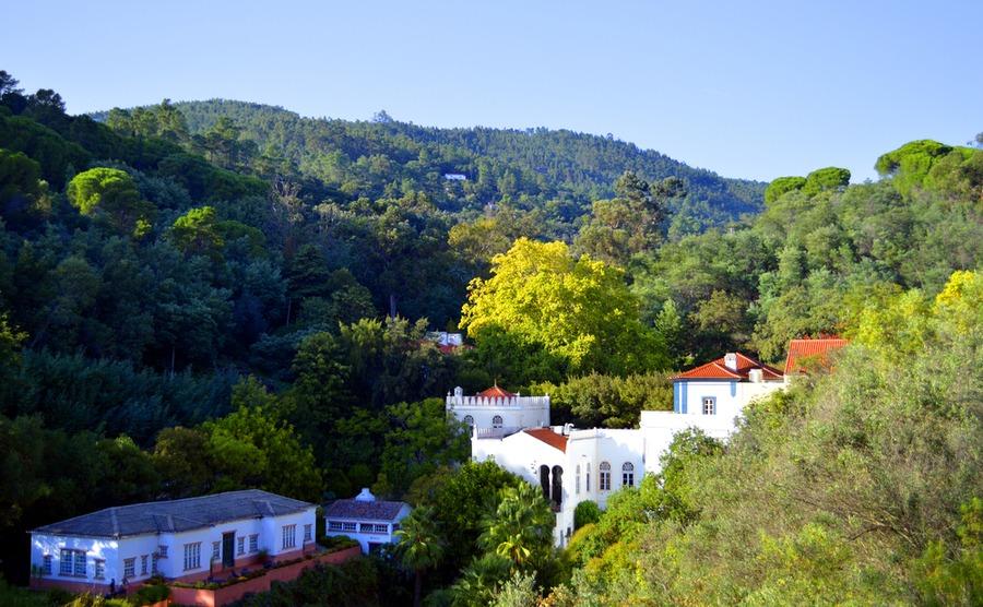 Caldas de Monchique is famous for its spa waters.