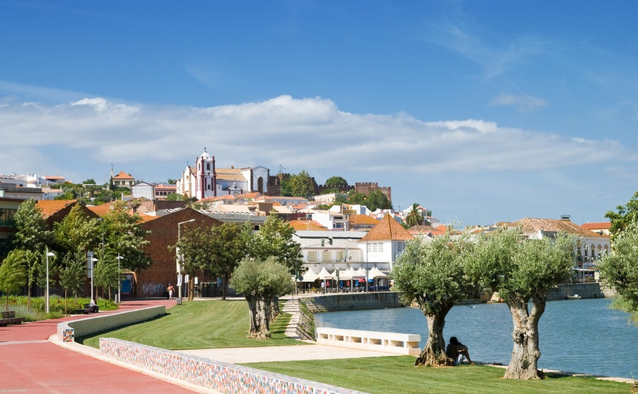 The historic town of Silves, once the capital of the Algarve.