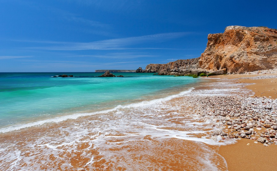 Sagres sits almost on Portugal's most southwesterly point.