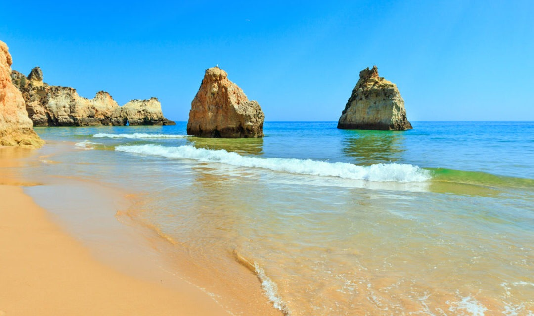 Back to the beach: lockdown eases in Portugal