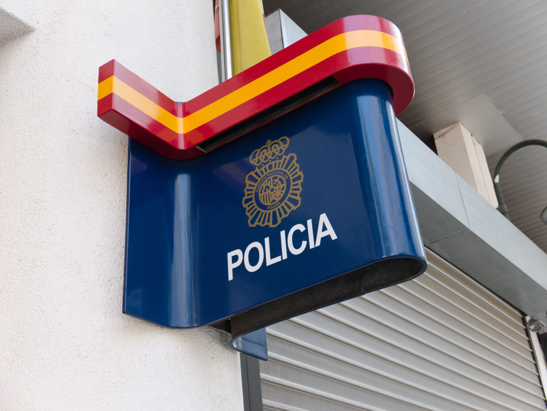 A police station in Spain