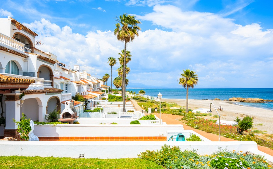 The Costa del Sol is an old favourite among overseas property buyers as one of the sunniest areas to buy in Spain.