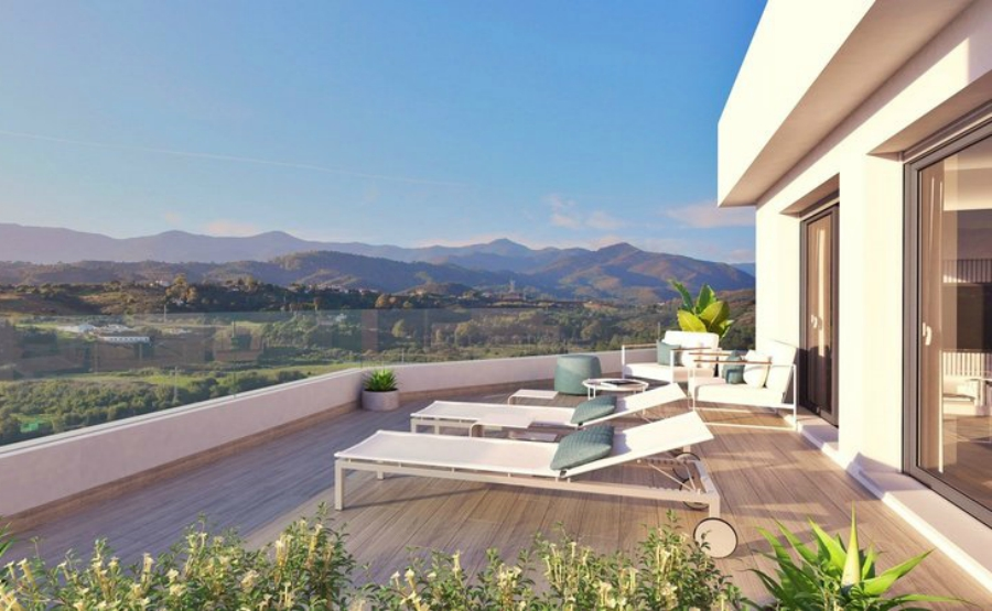 Eco-friendly homes are becoming more and more popular among buyers. Click on the image to view this new apartment in Estepona.