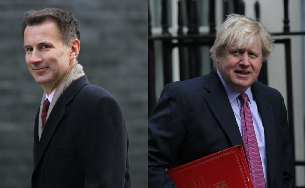 Jeremy Hunt and Boris Johnson are slugging it out to become Prime Minister (Twocoms / Shutterstock.com)
