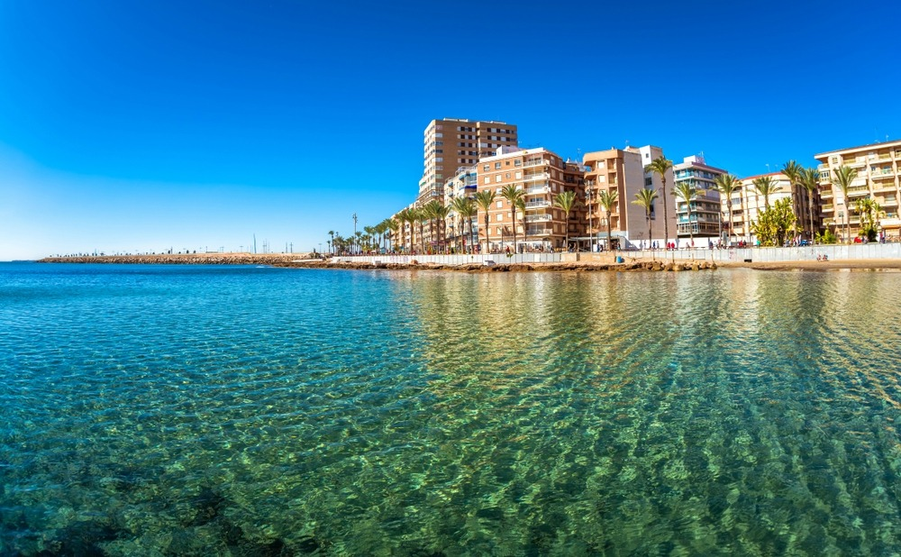 It may be surprising given the stunning location, but Torrevieja offers some of the cheapest homes in Spain.