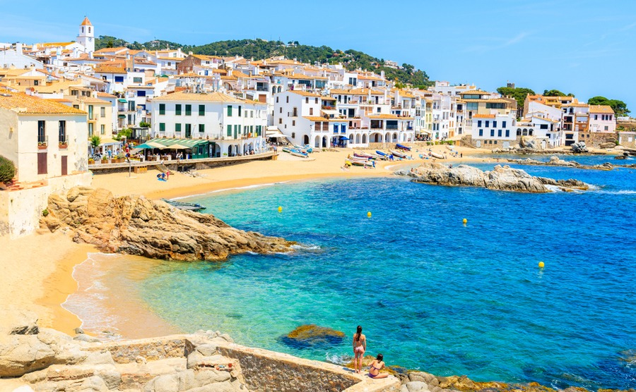 Calella de Palafrugell is one of the Costa Brava – and northeastern Spain's – most pictuesque areas.