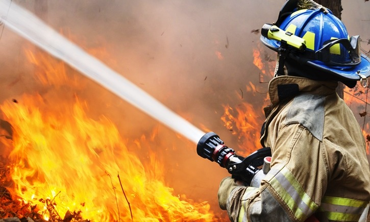 Firefighters save hundreds of British-owned homes