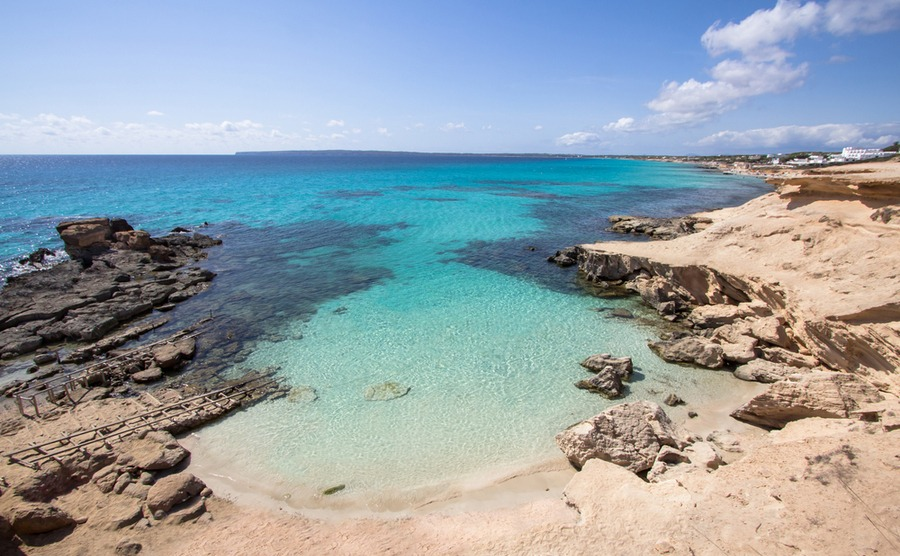 Beaches like Es Calo Des Mort make Formentera a haven for those seeking a more relaxed pace of life in the Balearic Islands.