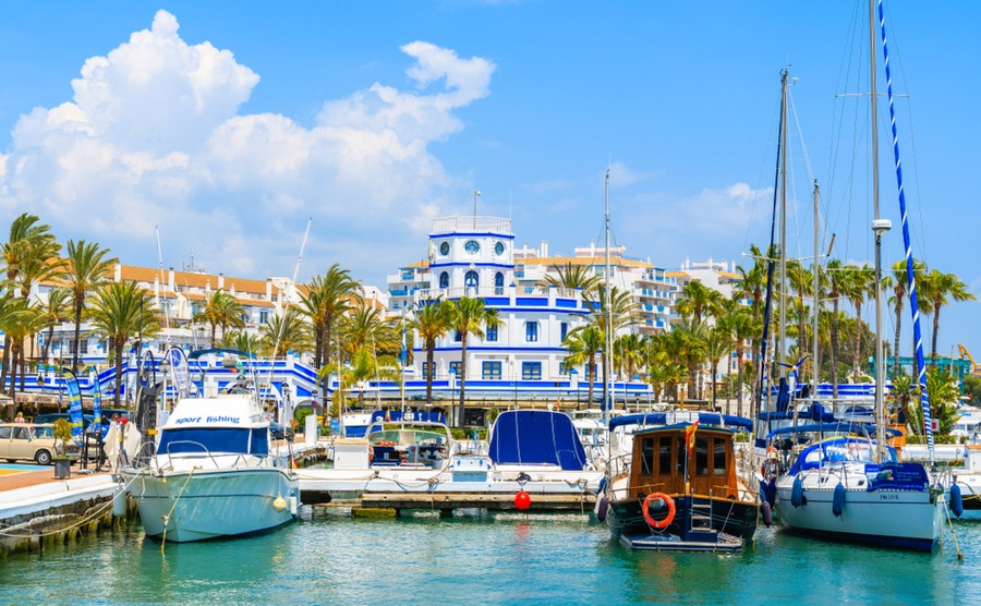 Estepona is the heart of the 'new golden mile'. Pawel Kazmierczak / Shutterstock.com