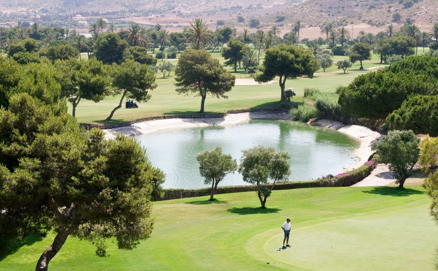 La Manga is a popular golf course with expats.