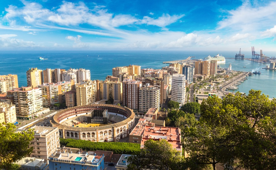 Málaga has previously been named the best area to live in Spain.
