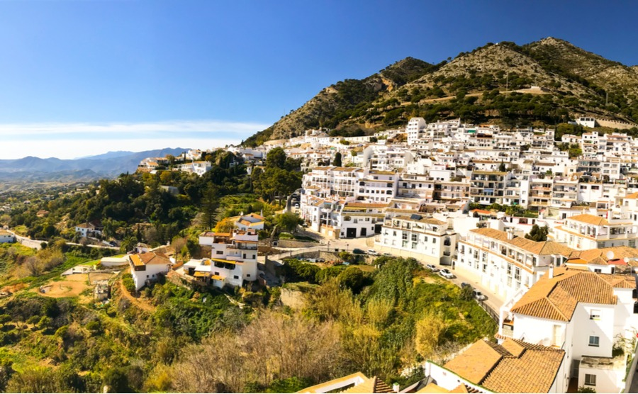 Mijas Pueblo is a historic, whitewashed village.