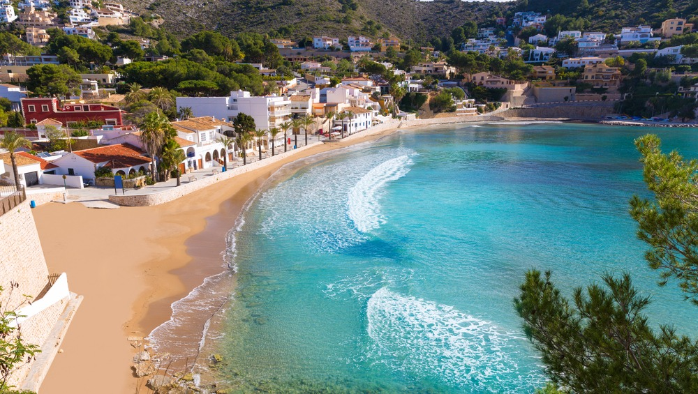 Moraira's perfect for buying property in the north of the Costa Blanca: it's small, peaceful and has a great beach.