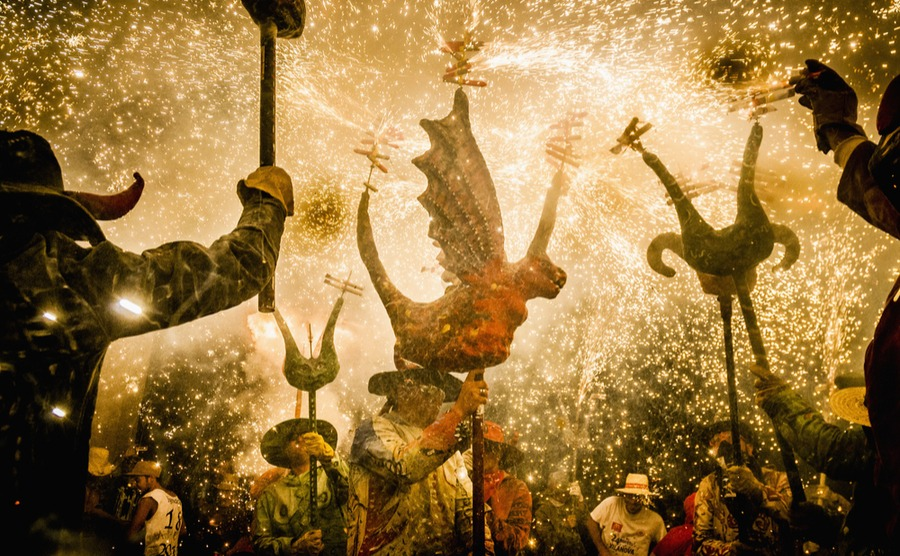 Spain's winter fiestas are a great way to have fun and meet your neighbours.