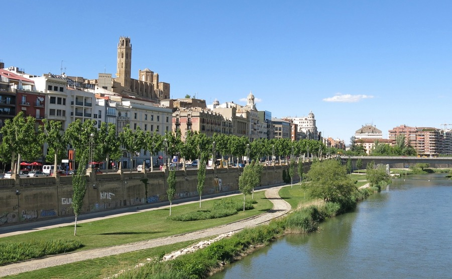 Lleida's further inland, offering a quiet lifestyle and some of the cheapest homes in Spain.