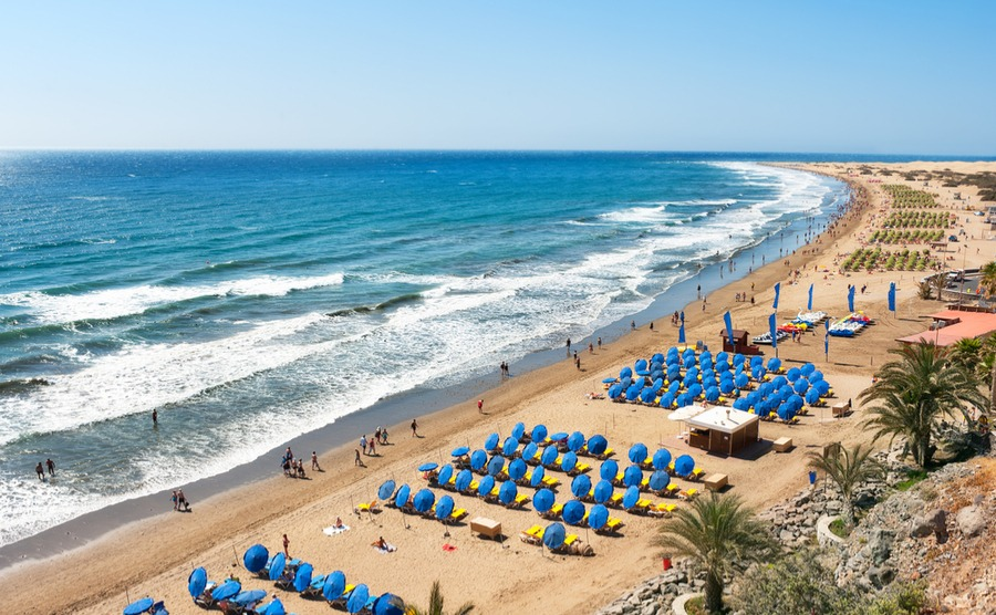 Resorts like Playa del Inglés are perfect to set up your new life in the Canary Islands with the minimum of hassle, as you'll have everything on your doorstep.