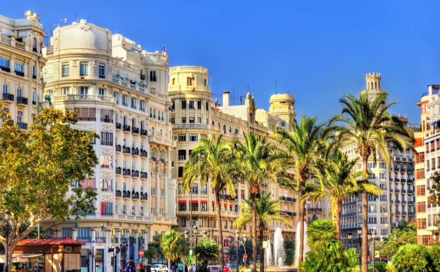 Valencia is Spain's largest city and combines the beach lifestyle with all the convenience of urban living.