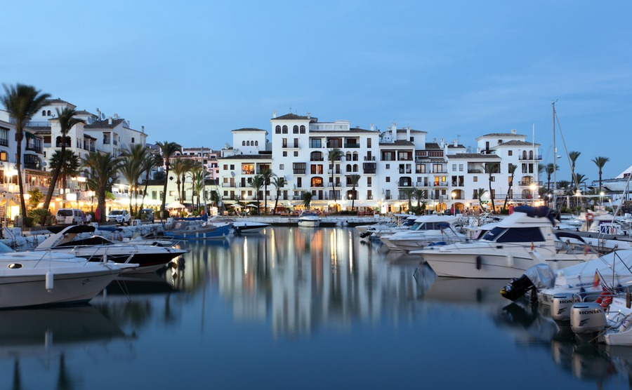 The Marina at Puerto de la Duquesa. Philip Lange / Shutterstock.com