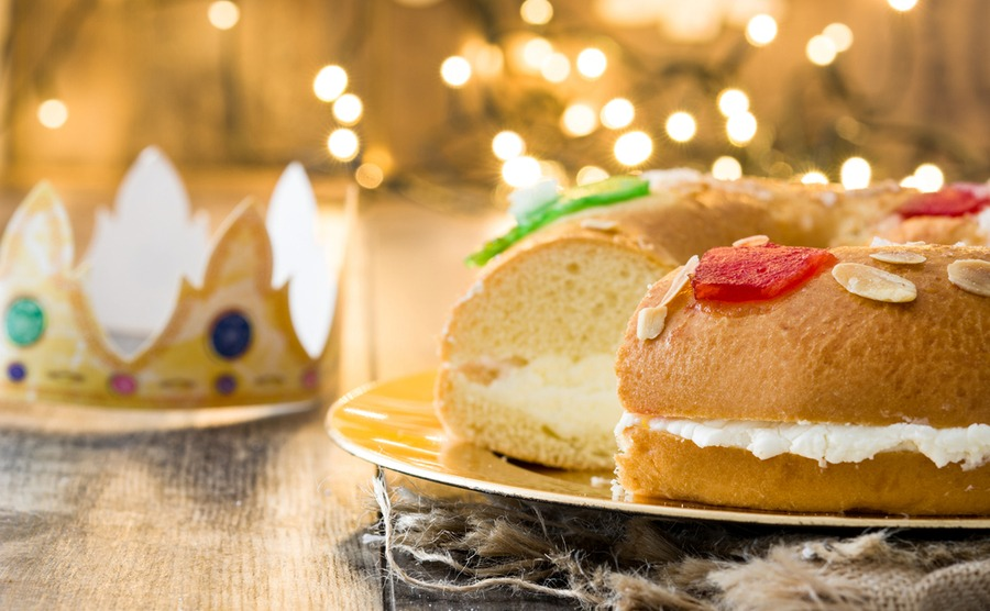The traditional cake is an important part of the 6th January festivities, itself one of Spain's most important winter fiestas.