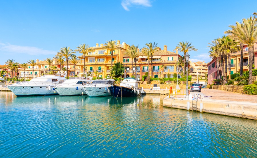 Sotogrande is one of the most exclusive parts of the Costa del Sol, with a beautiful marina, polo clubs, world-class golf courses and more.
