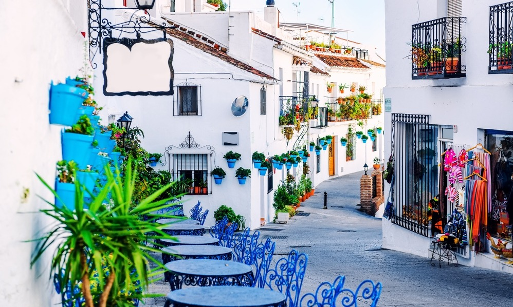 Spain - Beautiful Mijas street