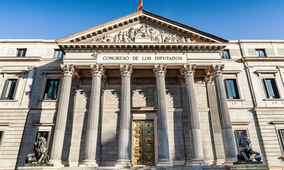 Spain - Parliament in Madrid