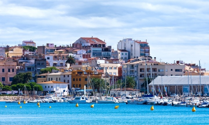 Spain - Seaside towns - Beautiful Spanish seaside town